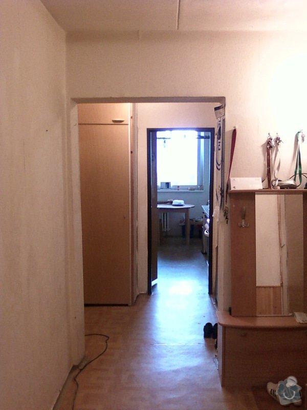 Rekonstrukce bytového jádra+předsíň: predsin-oblouk