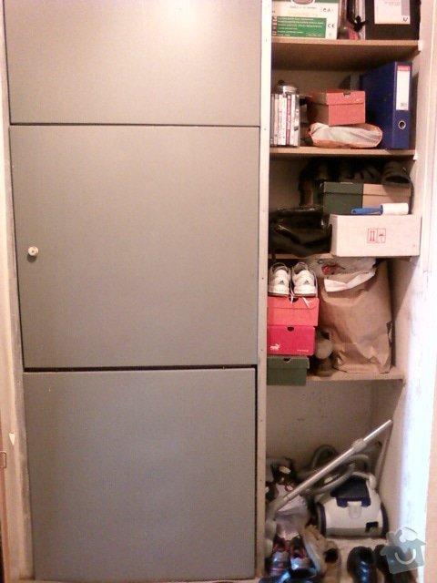 Rekonstrukce bytového jádra+předsíň: Stoupacky_predsin_misto_pracku