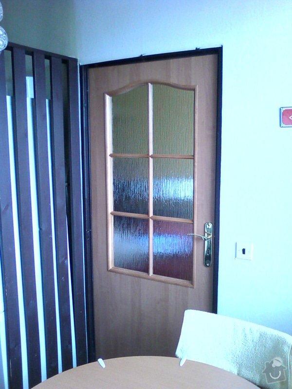 Rekonstrukce bytového jádra+předsíň: Kuchyne_dvere_800mm