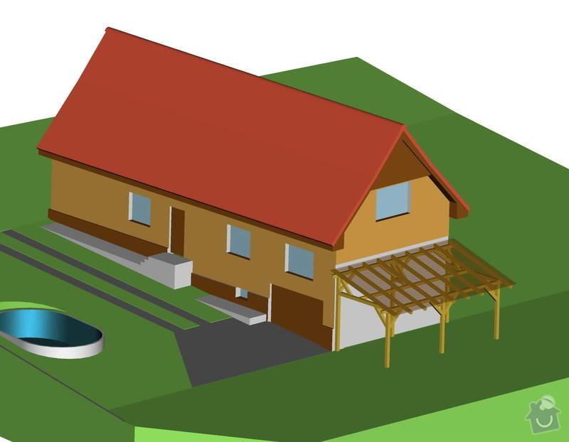 Tesařská práce - stavba terasy: w83-00-t1