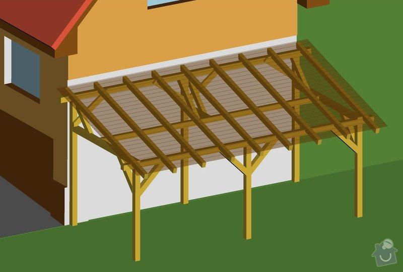 Tesařská práce - stavba terasy: w83-00-t2