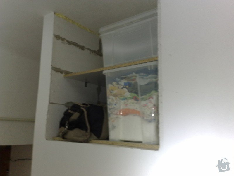 Zhotovení a montáž skříňových dveří: ch1