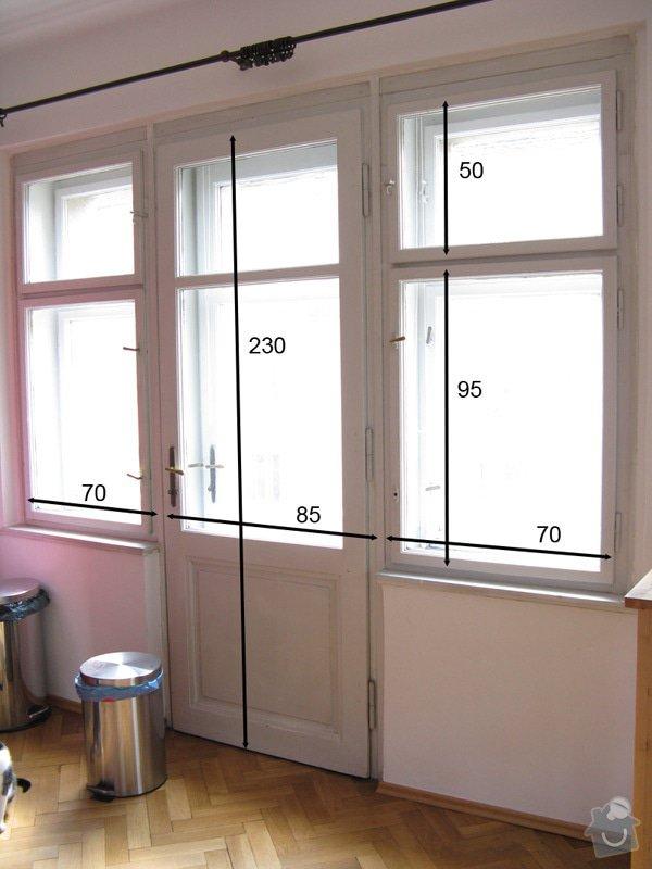 Výměna špaletových oken za eurookna: balkon