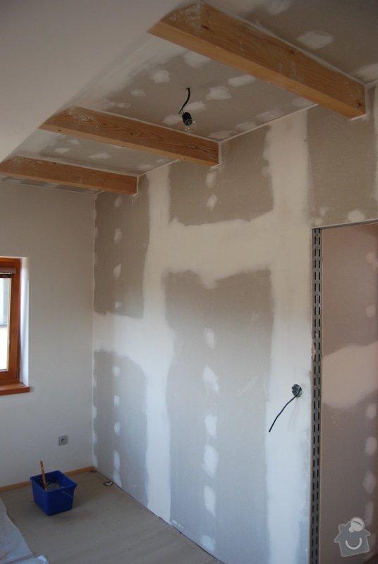 Stavba sádrokartónové příčky: DSC_0440