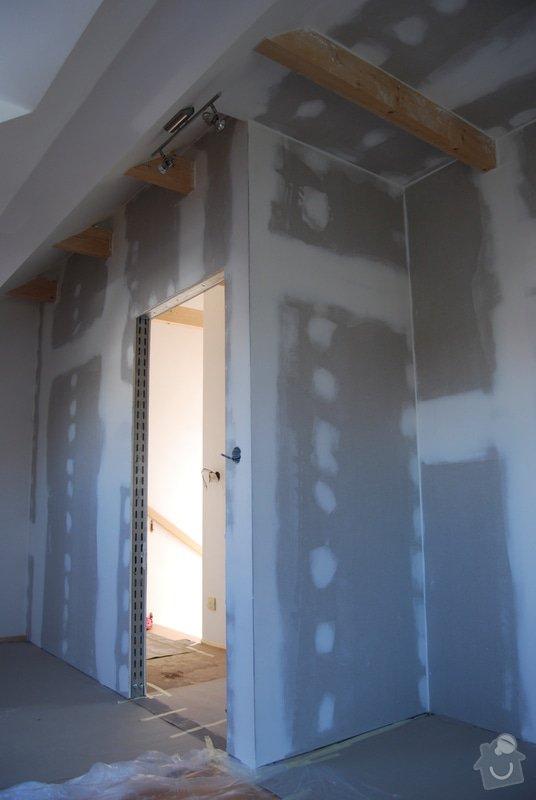 Stavba sádrokartónové příčky: DSC_0443