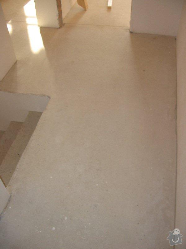 Dodávka a montáž masivní podlahy do obytných místností prvního patra novostavby: IMG_6754