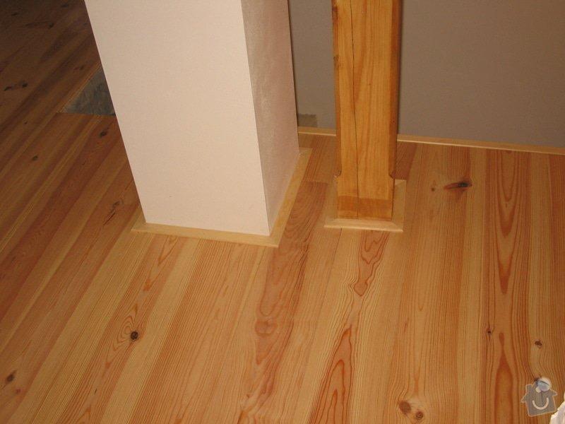 Dodávka a montáž masivní podlahy do obytných místností prvního patra novostavby: IMG_6945
