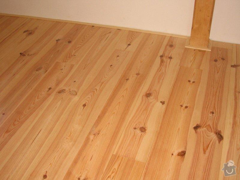 Dodávka a montáž masivní podlahy do obytných místností prvního patra novostavby: IMG_6947