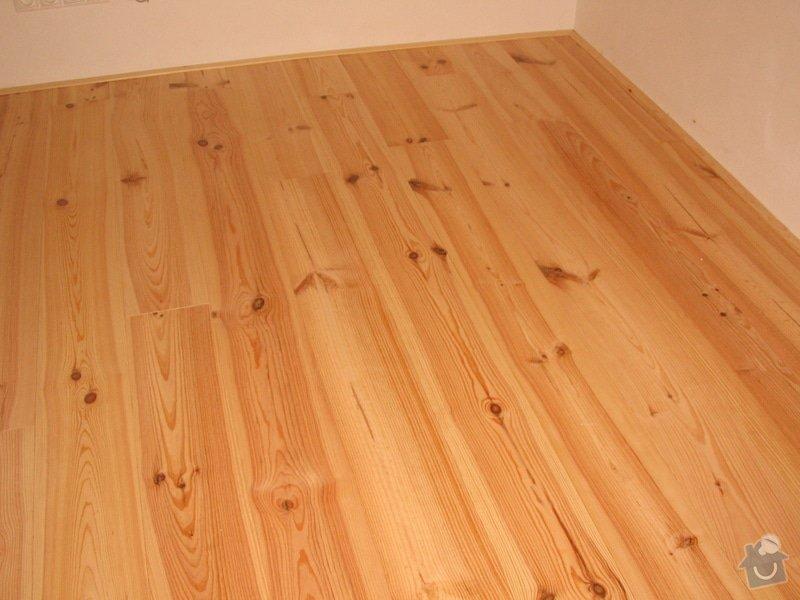 Dodávka a montáž masivní podlahy do obytných místností prvního patra novostavby: IMG_6948
