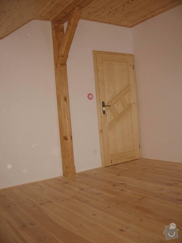 Dodávka a montáž masivní podlahy do obytných místností prvního patra novostavby: IMG_7186