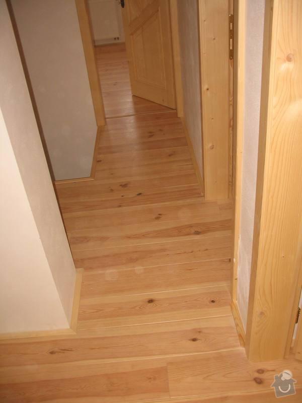 Dodávka a montáž masivní podlahy do obytných místností prvního patra novostavby: IMG_7190