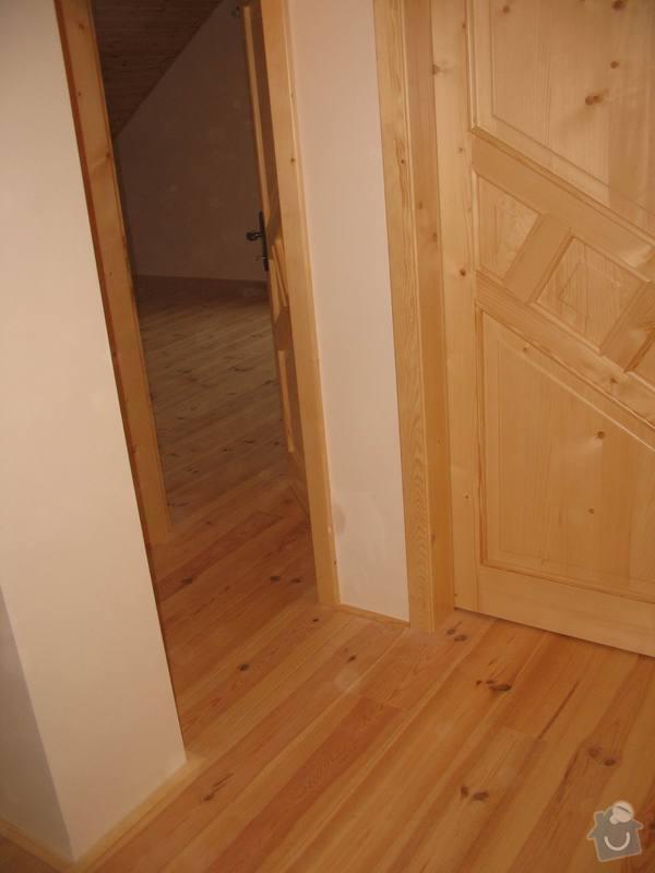 Dodávka a montáž masivní podlahy do obytných místností prvního patra novostavby: IMG_7194