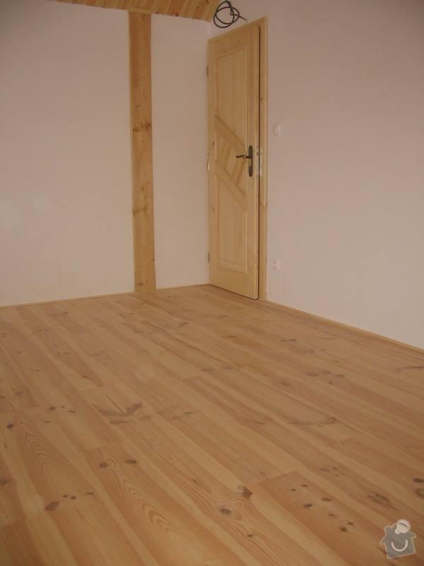 Dodávka a montáž masivní podlahy do obytných místností prvního patra novostavby: IMG_7207