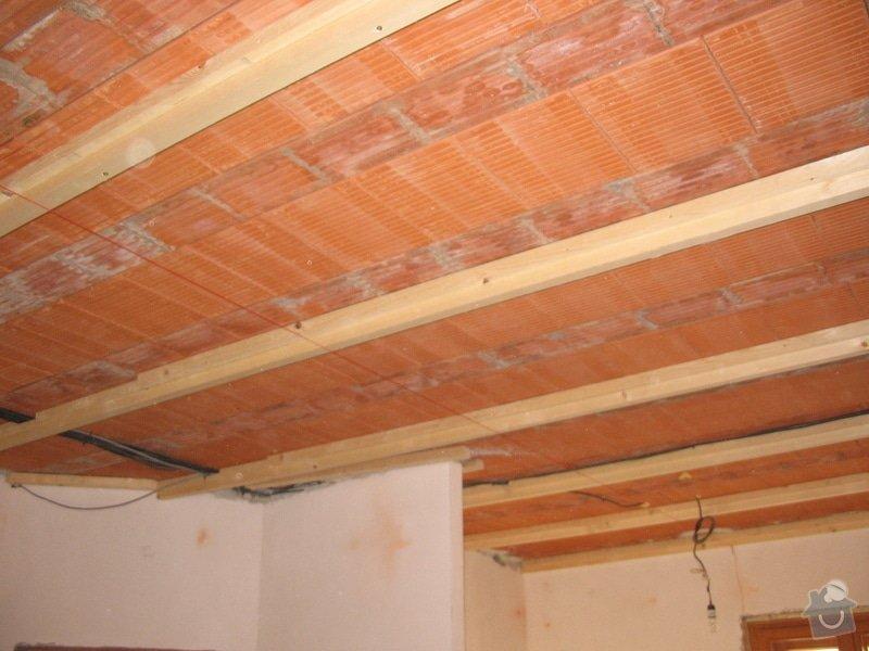 Dodávka a montáž stropního trámového obkladu do novostavby: IMG_6376