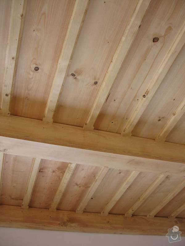 Dodávka a montáž stropního trámového obkladu do novostavby: IMG_6700