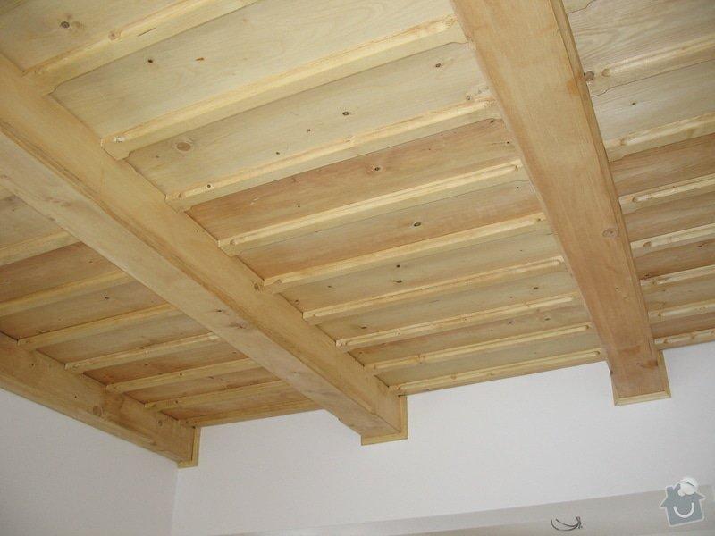 Dodávka a montáž stropního trámového obkladu do novostavby: IMG_6703