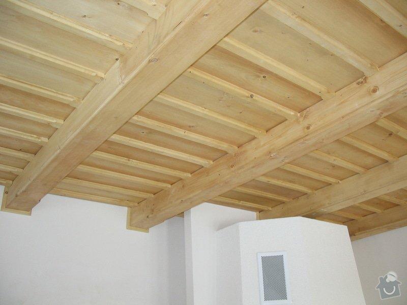 Dodávka a montáž stropního trámového obkladu do novostavby: IMG_6704