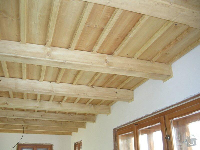 Dodávka a montáž stropního trámového obkladu do novostavby: IMG_6706