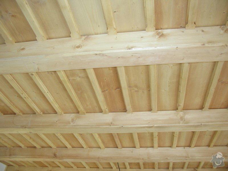 Dodávka a montáž stropního trámového obkladu do novostavby: IMG_6708