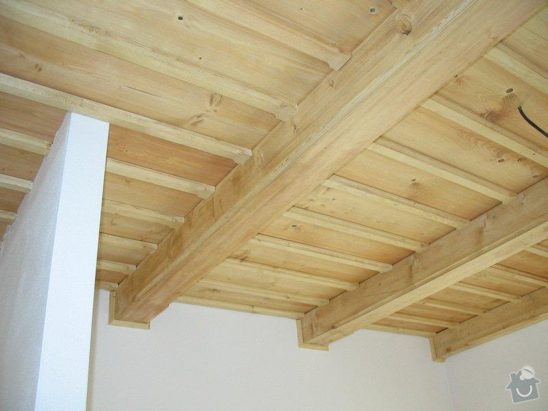 Dodávka a montáž stropního trámového obkladu do novostavby: IMG_6712