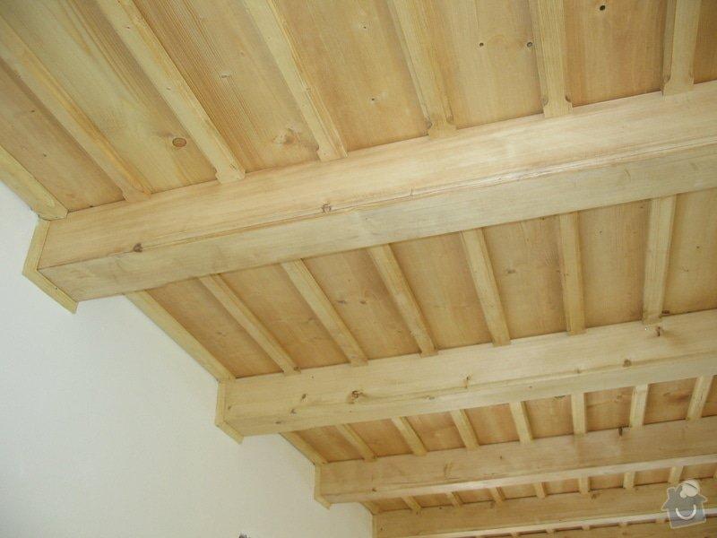Dodávka a montáž stropního trámového obkladu do novostavby: IMG_6713