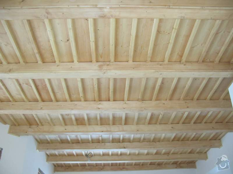 Dodávka a montáž stropního trámového obkladu do novostavby: IMG_6715