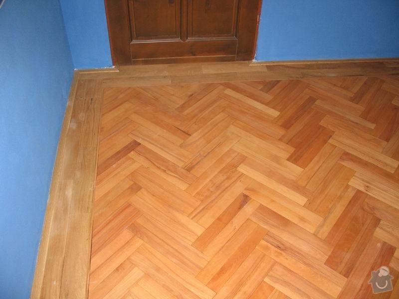 Rekonstrukce dubové vlysové podlahy: Dvojita_rybiny_dubovy_vlys