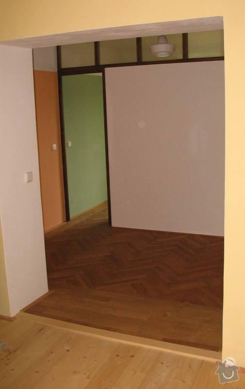 Rekonstrukce dubové vlysové podlahy: vtzbegr