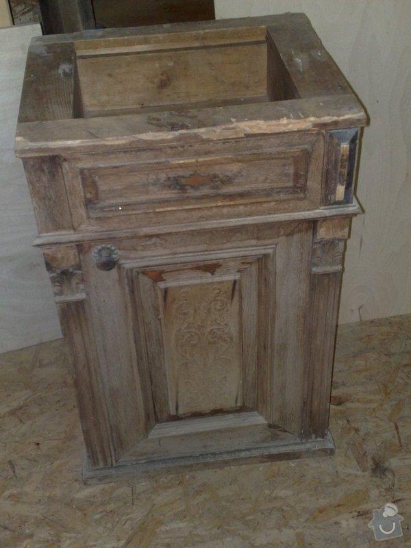 Renovace nočního stolku: 024