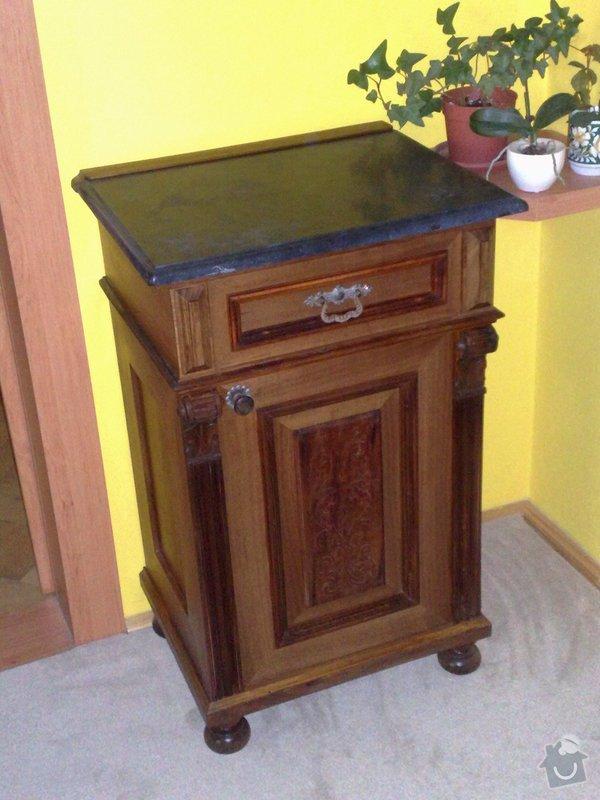 Renovace nočního stolku: 025