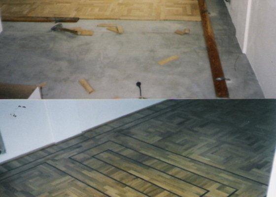 Dodávka a montáž masivní dubové podlahy