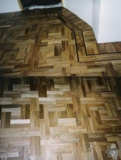 Dodávka a montáž masivní dubové podlahy: 3