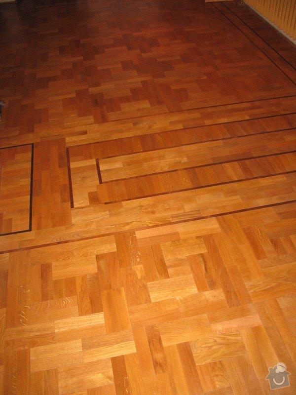 Dodávka a montáž masivní dubové podlahy: 4