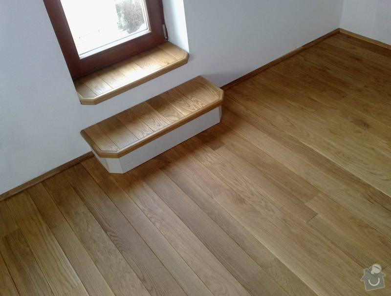 Montáž masivní podlahy do obytné místností: 021