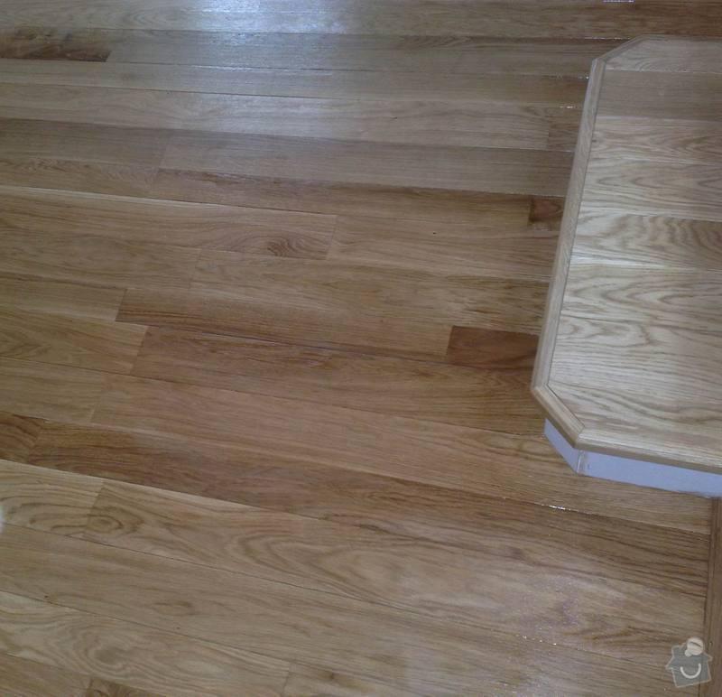 Montáž masivní podlahy do obytné místností: 024