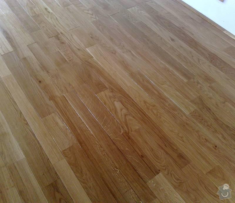 Montáž masivní podlahy do obytné místností: 025