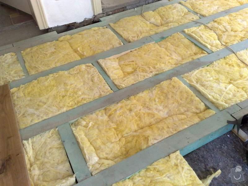 Dodávka a montáž dubové masivní podlahy do rekonstruovaného hostince U Fialů: 1