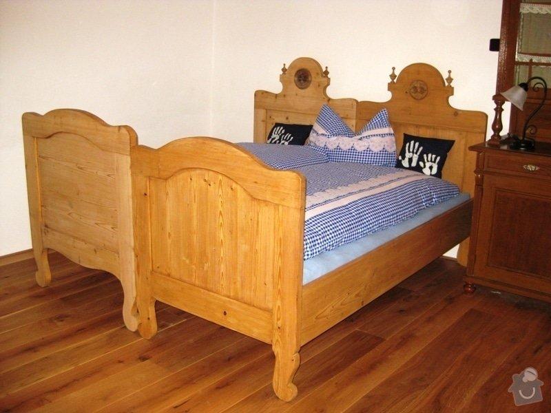 Dodávka a montáž dubové masivní podlahy do rekonstruovaného hostince U Fialů: opravene_postele1