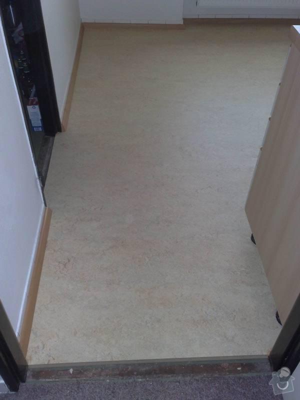 Dodávka a montáž plovoucí podlahy do kuchyně: 008