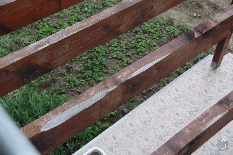 Přebroušení a nátěr dřevěných trámů: IMG_0142