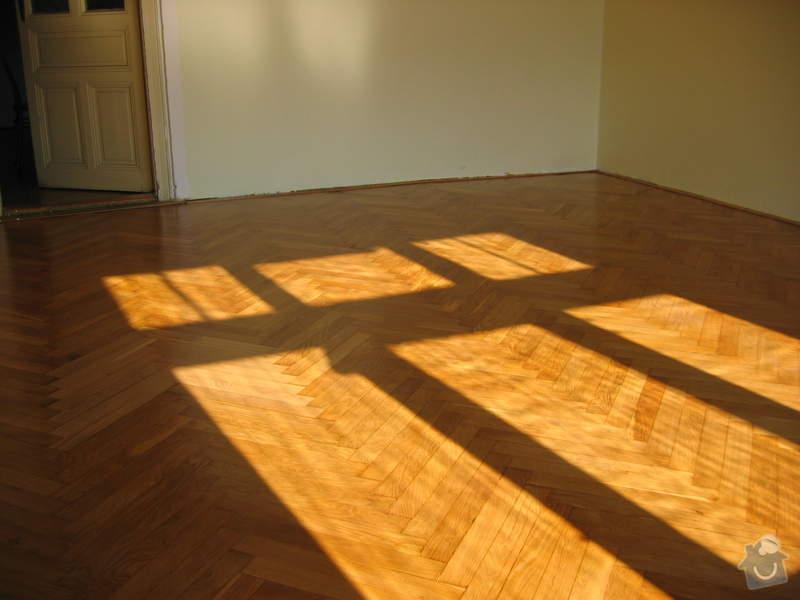 Renovace dubových parket: podlaha_po1
