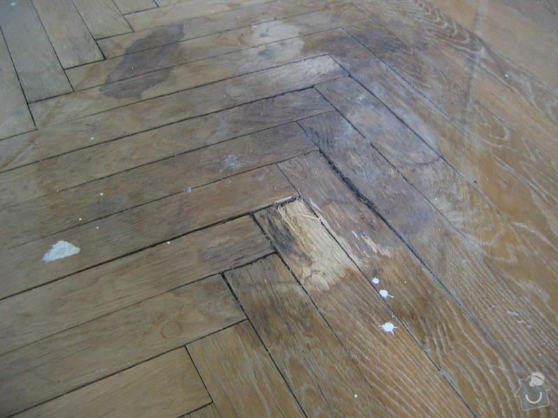 Renovace dubových parket: podlaha_pred1