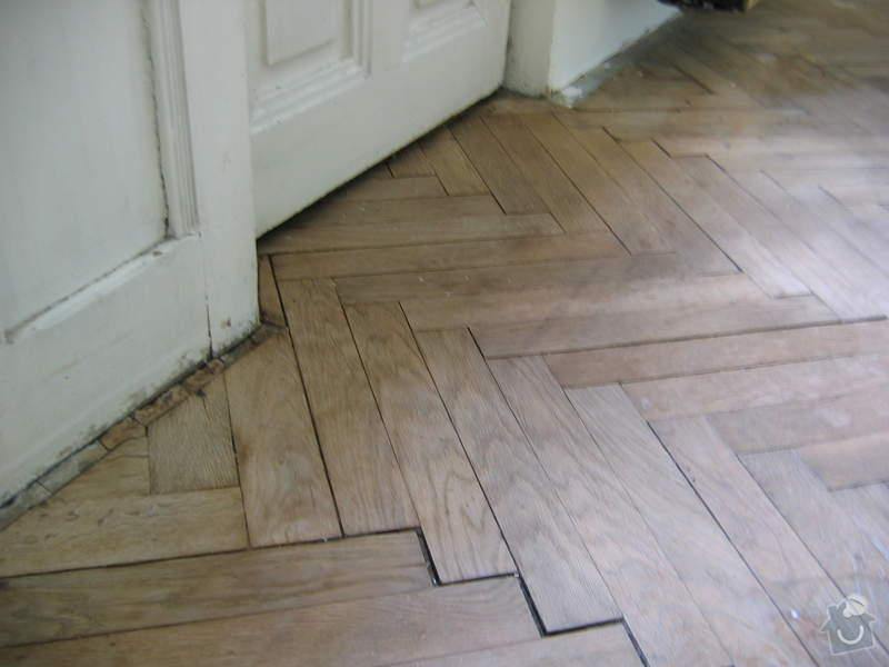 Renovace dubových parket: podlaha_pred3