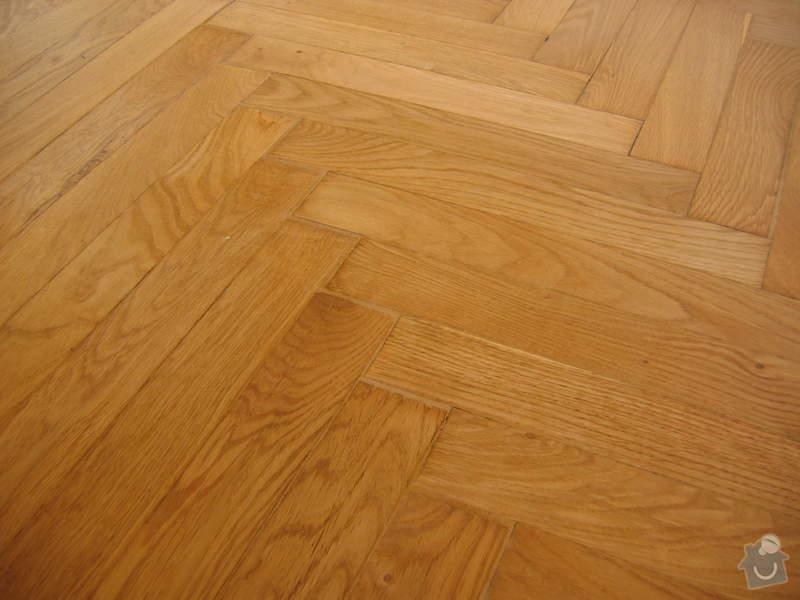 Renovace dubových parket: podlaha_po2