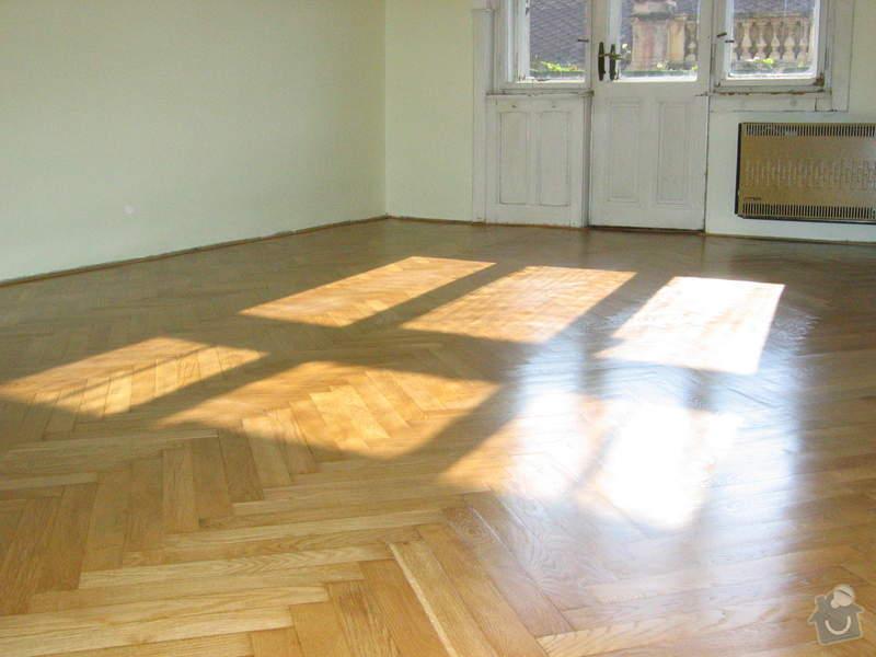 Renovace dubových parket: podlaha_po3
