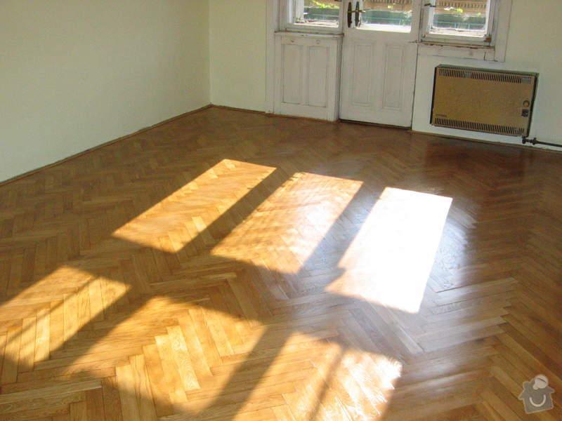 Renovace dubových parket: podlaha_po4