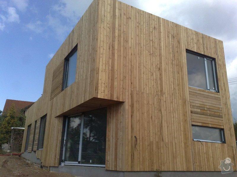 Dřevěný obklad rodinného domu: 05052011731