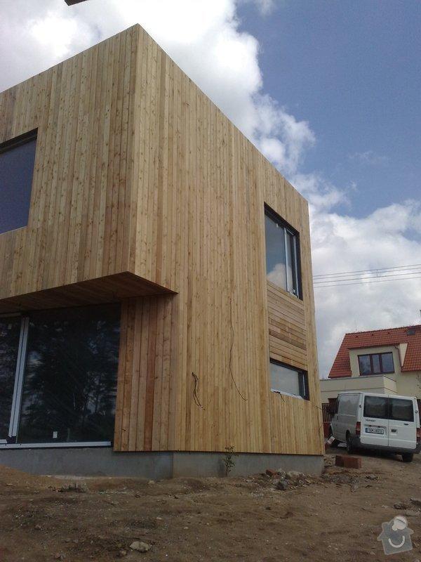 Dřevěný obklad rodinného domu: 05052011733