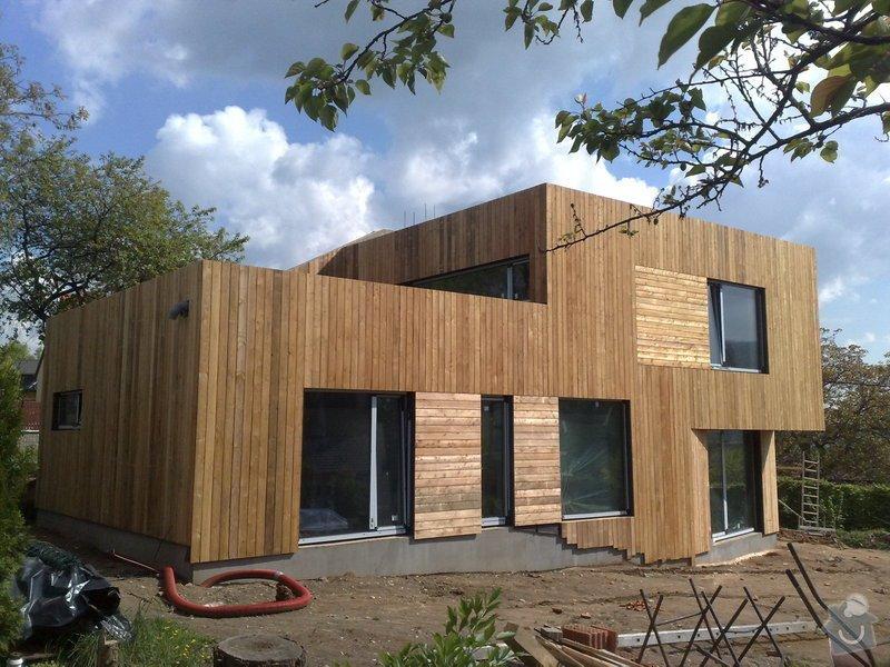 Dřevěný obklad rodinného domu: 05052011734