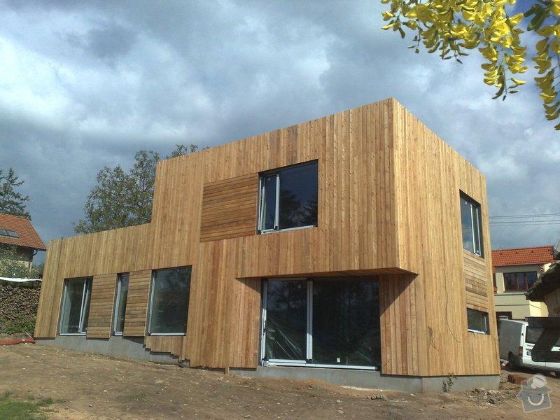 Dřevěný obklad rodinného domu: 05052011736